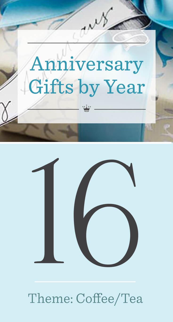 16th Wedding Anniversary Gifts Hallmark Ideas Inspiration