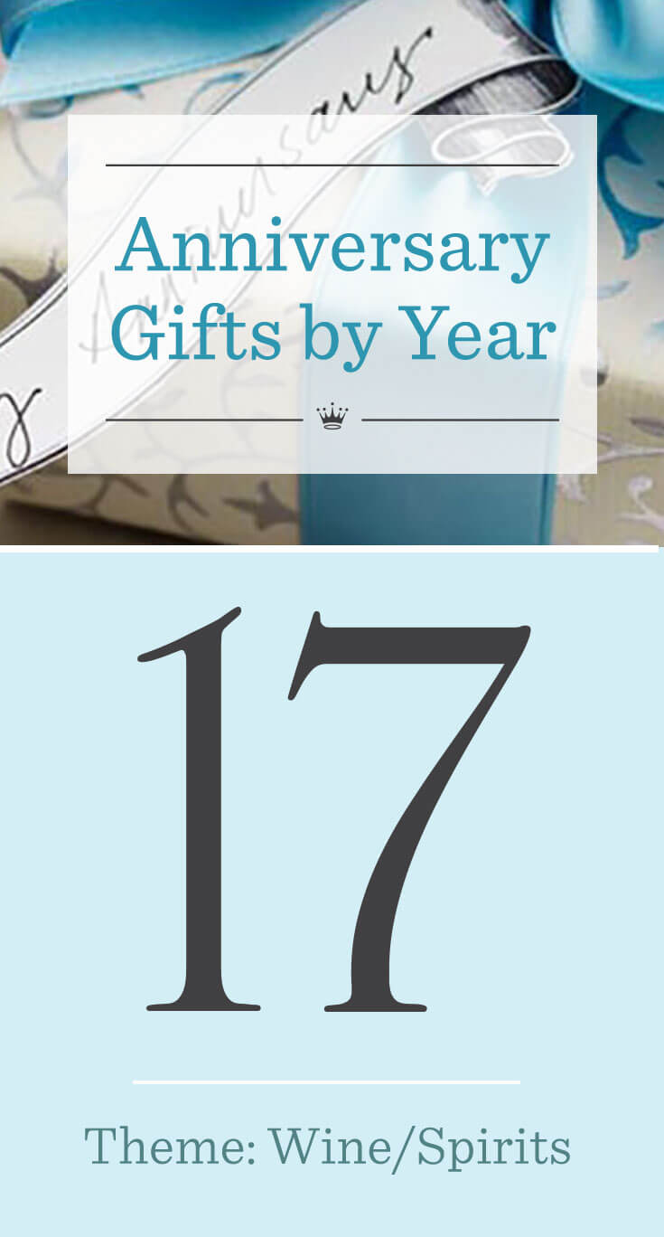 17th Wedding Anniversary Gifts Hallmark Ideas Inspiration