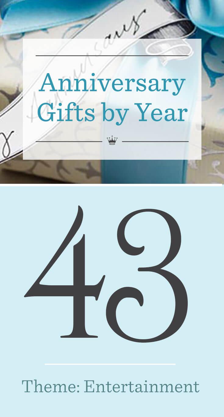 43rd Wedding Anniversary Gifts Hallmark Ideas Inspiration