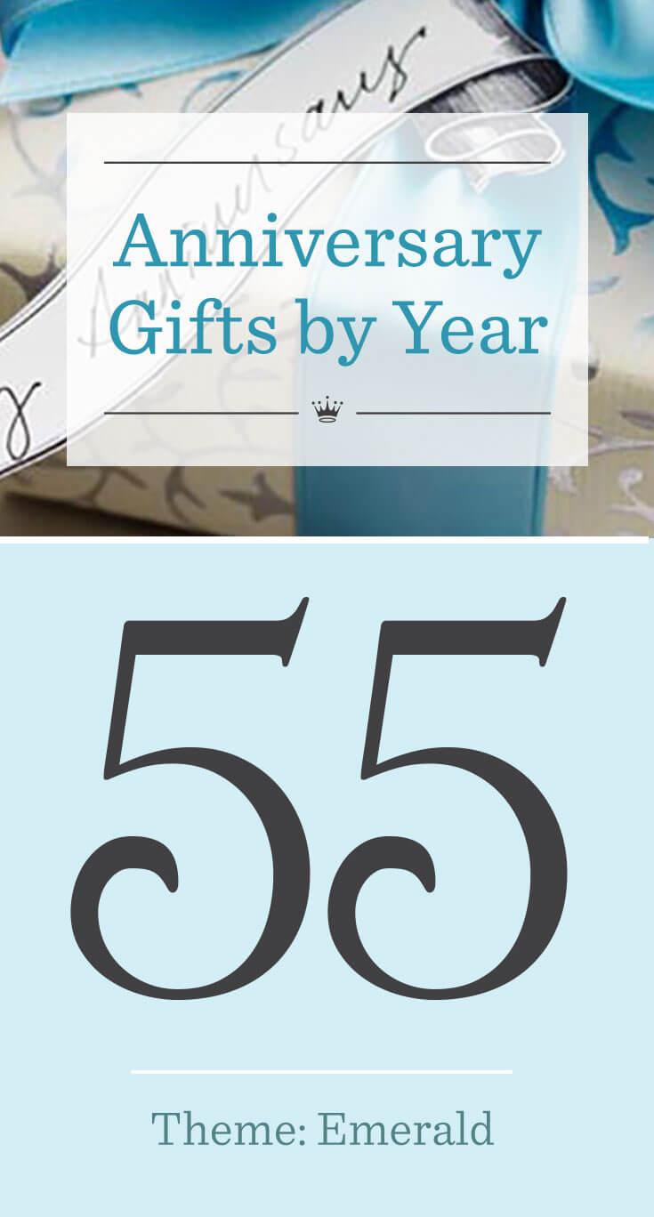 55th Wedding Anniversary Gifts Hallmark Ideas Inspiration