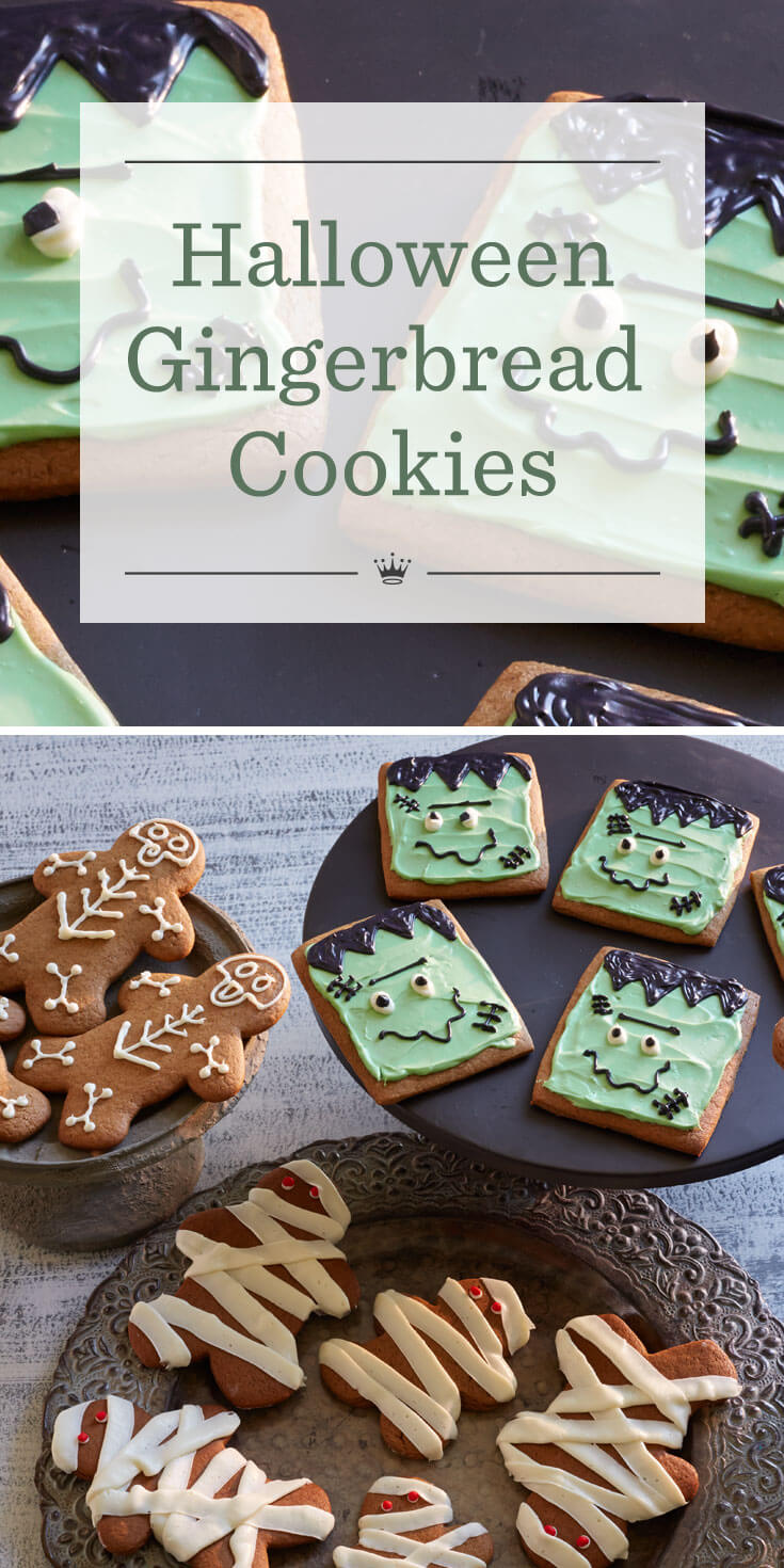 halloween gingerbread cookie recipe hallmark ideas inspiration - Halloween Gingerbread Cookies