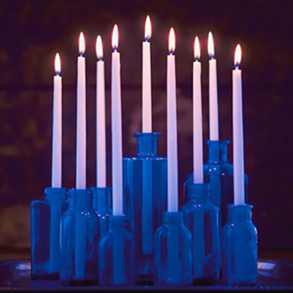 Elegance hanukkah menorah crafts