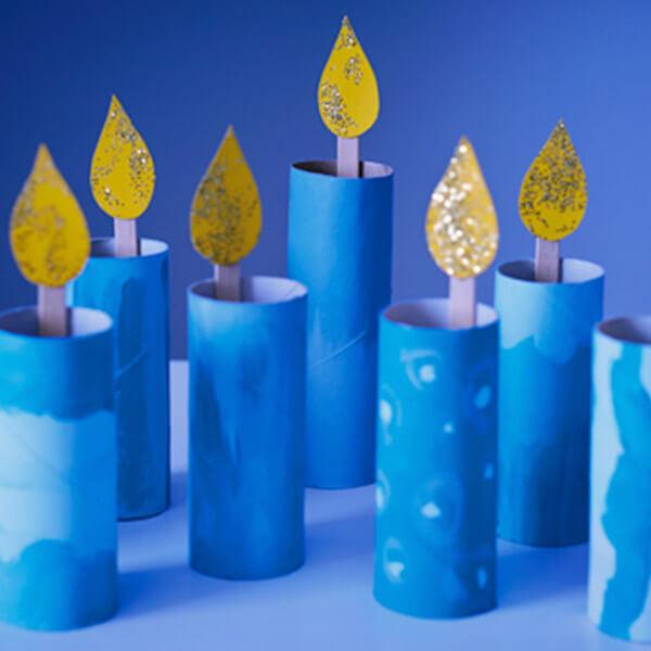 hanukkah menorah crafts kids