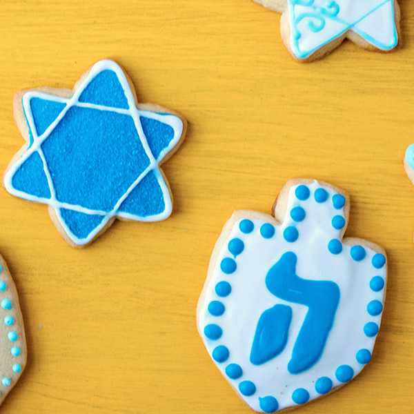 Hanukkah Sugar Cookie Recipe