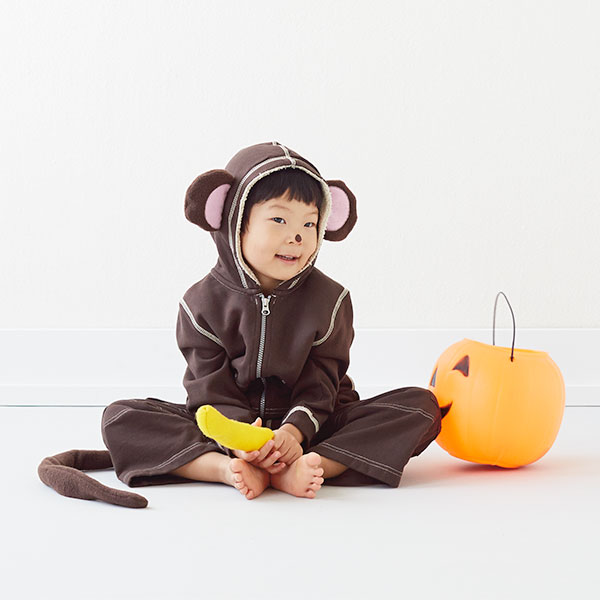 Homemade Halloween Costumes for Kids: Monkey