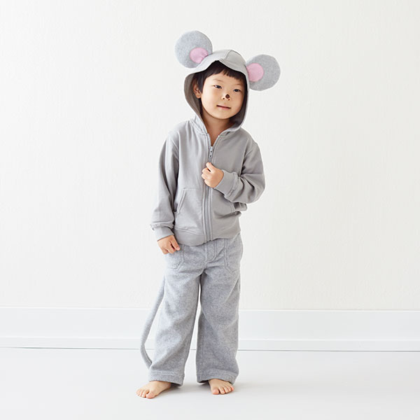 Homemade Halloween Costumes for Kids: Mouse