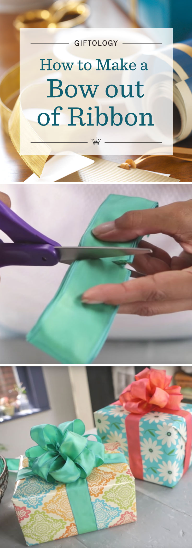 Giftology Video: How to Make a Bow out of Ribbon | Hallmark Ideas ...
