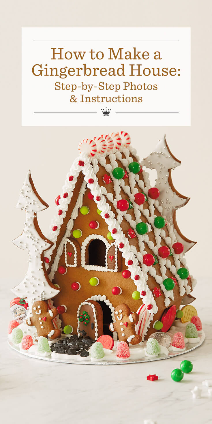 gingerbread house template ideas  How to Make a Gingerbread House | Hallmark Ideas & Inspiration