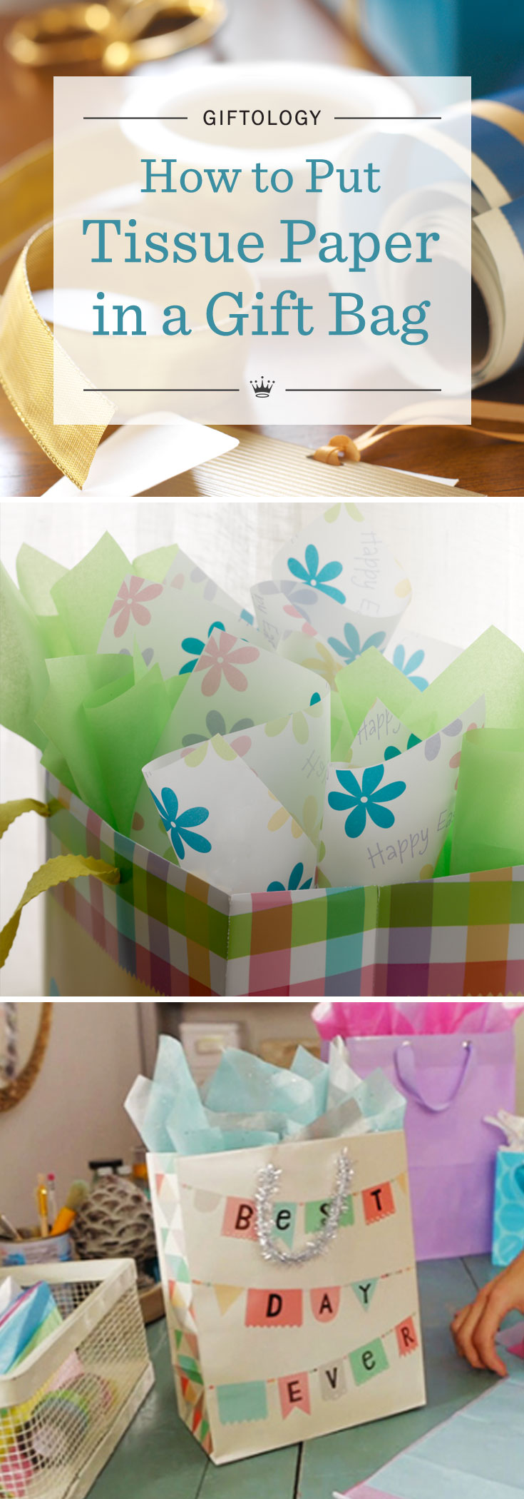 Giftology Video How To Put Tissue Paper In A Gift Bag Hallmark Ideas Inspiration