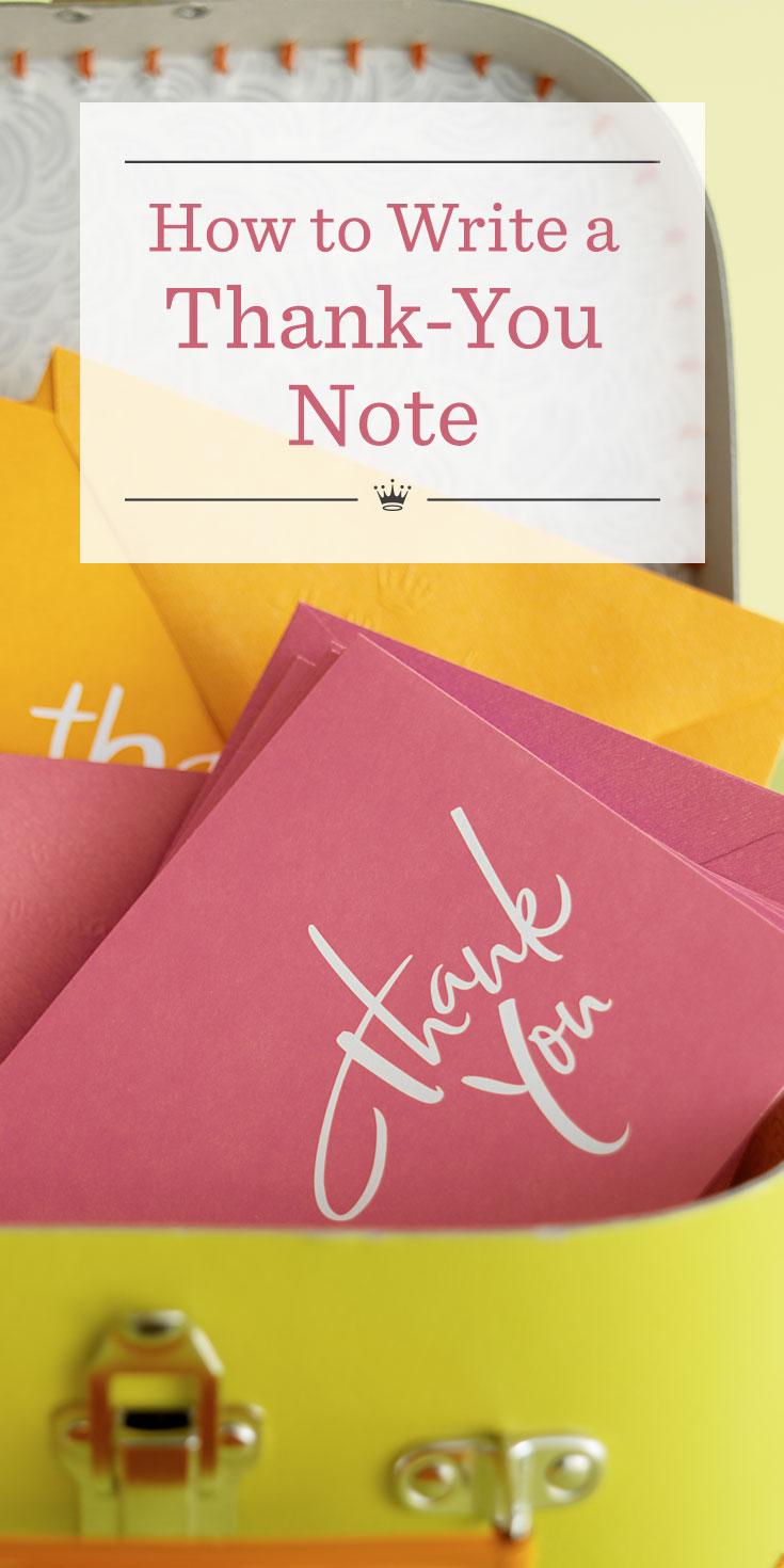 How To Write A Thank You Note Hallmark Ideas Inspiration