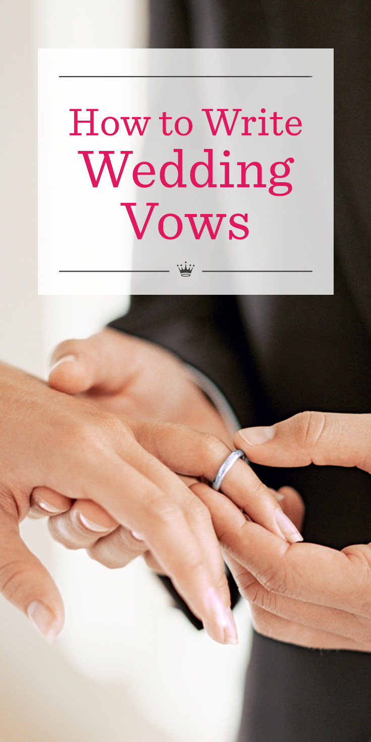 help me write my vows Your wedding vows are the most meaningful part of your wedding day free wedding vow templates to help you write your own personal wedding vows.