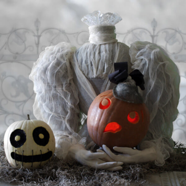 Creative Pumpkin-Carving Ideas: Madame l'Osterhead