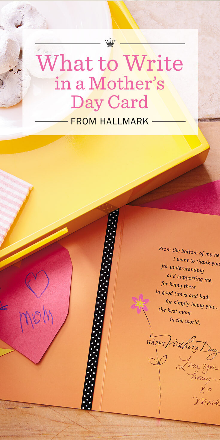 Mothers Day Messages What to Write in a Mothers Day Card – What to Write in Mothers Birthday Card