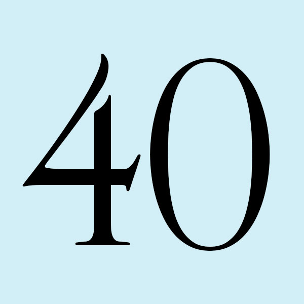 Fortieth anniversary gifts