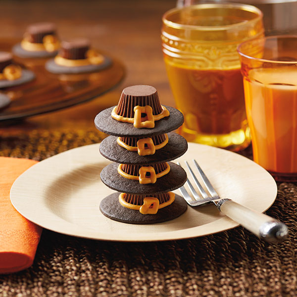 Pilgrim Hats Peanut Butter Cups Recipe