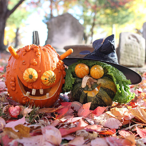 Creative Pumpkin-Carving Ideas: Reek & Shriek Pumpkins