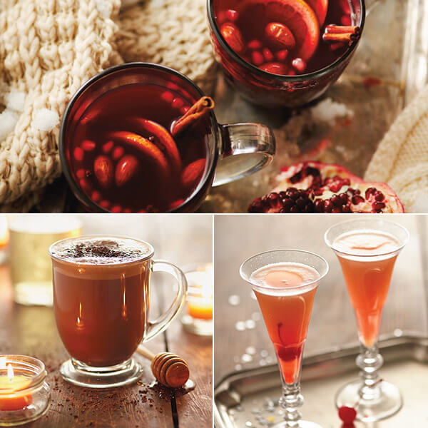 4 Signature Christmas Cocktails