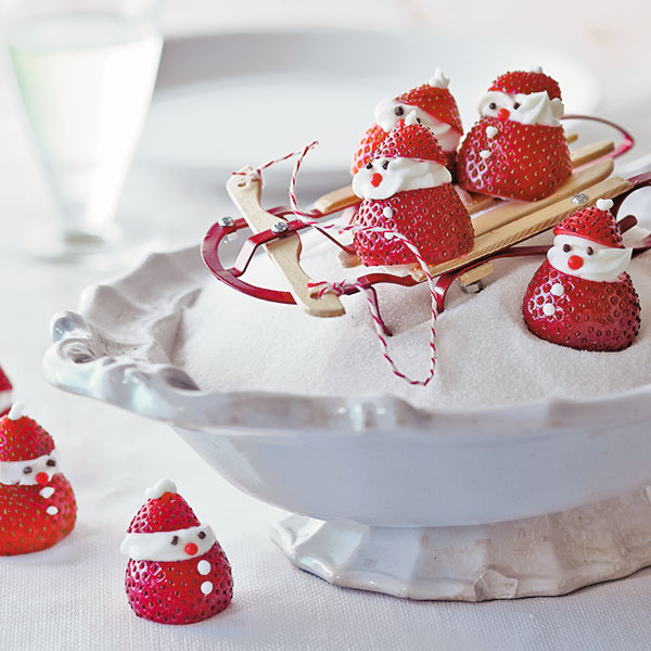 Strawberry Santas Recipe