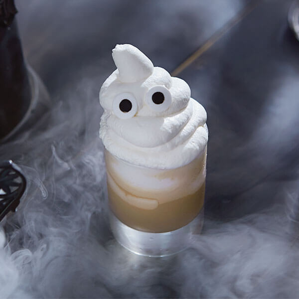 Creepy Halloween Cocktails & Garnish Ideas: The Shiver Maker