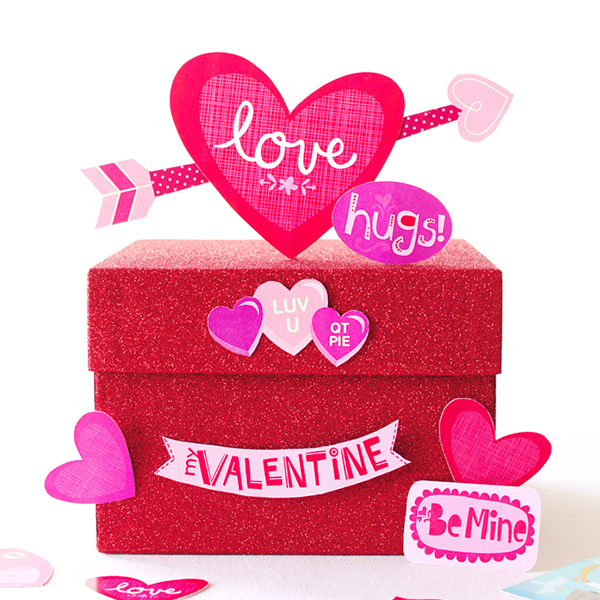 How To Decorate A Valentine Box Delectable DIY Valentine's Boxes Hallmark Ideas Inspiration