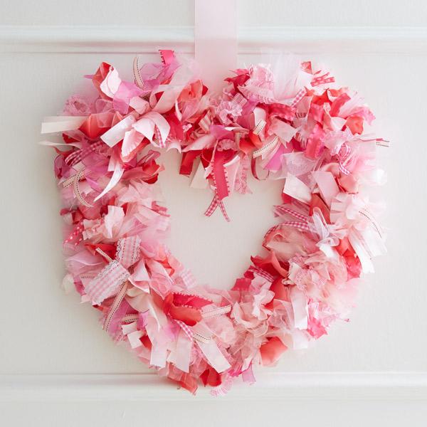 Valentine Wreath Part - 25: DIY Valentine Wreath: U201cShe-loves-me-knotu201d Heart Wreath. U201c