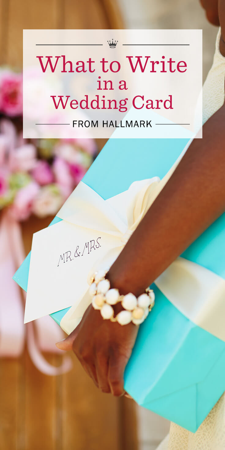 Wedding Wishes: What to Write in a Wedding Card | Hallmark Ideas ...