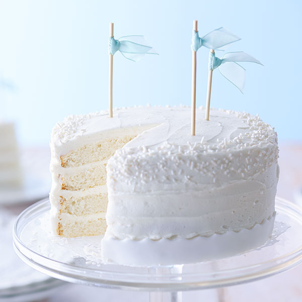 White Cake and Buttercream Frosting Recipes