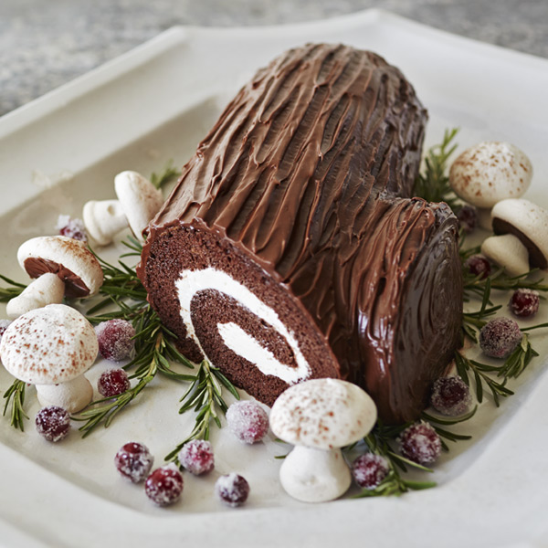 Buche de Noel Recipe | Hallmark Ideas & Inspiration