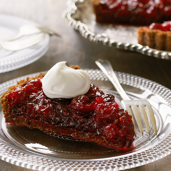 Cranberry-Ginger Tart