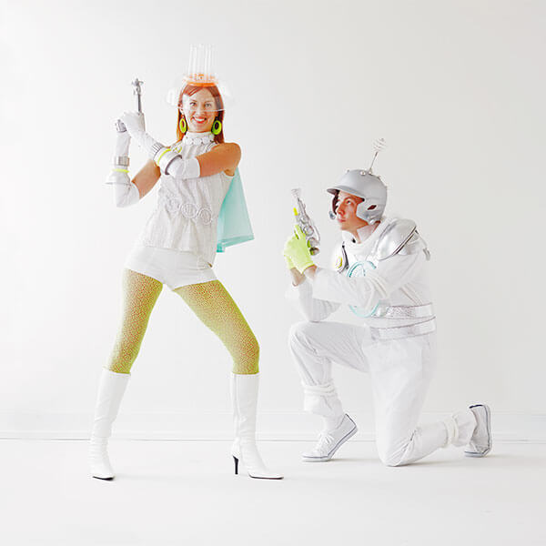 DIY Family Halloween Costumes: Planetary Parents