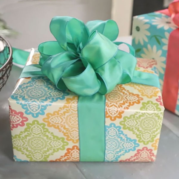 Gift wrapping hallmark ideas inspiration giftology how to make a bow out of ribbon gift wrapping negle Image collections