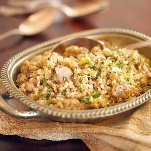 Mamman's Oyster Rice Dressing Recipe