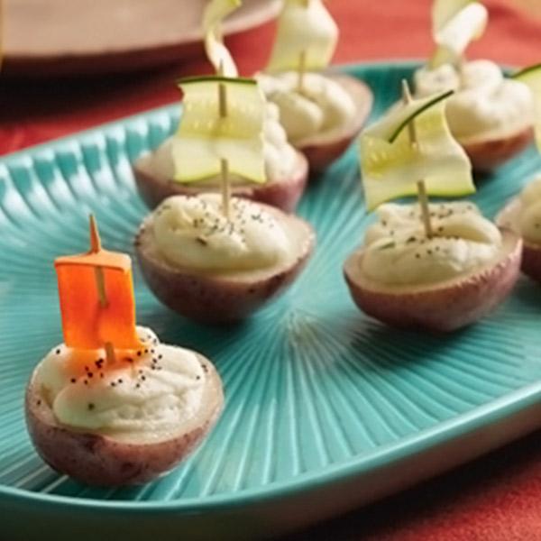Potato Boat Recipe Hallmark Ideas Amp Inspiration