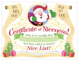 Santa letter template hallmark ideas inspiration printable santa letter template certificate of niceness for your child yelopaper Images
