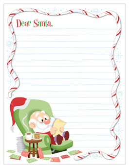 Santa Letter Template Hallmark Ideas Inspiration