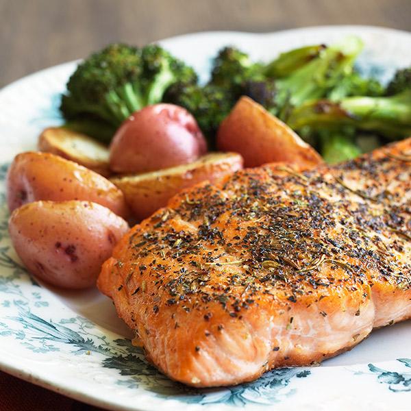 Simple Herbed Salmon Recipe
