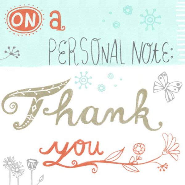 How to Write a Thank You Note – Personal Thank You Letter
