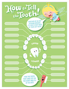 graphic about Baby Tooth Chart Printable known as Enamel Fairy Printables: Dropped Enamel Chart Hallmark Guidelines
