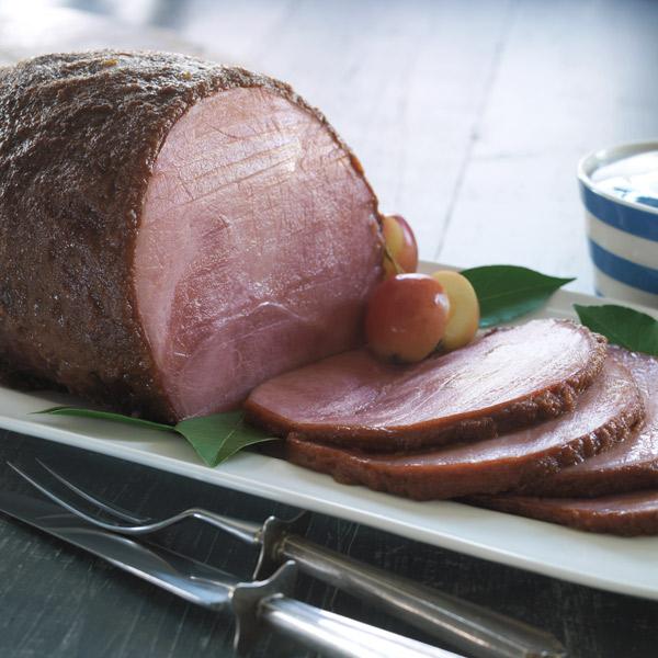 Apricot-mustard baked ham recipe
