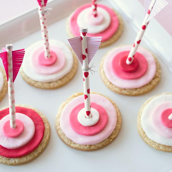 Cupid's Arrow Sugar Cookie Recipe