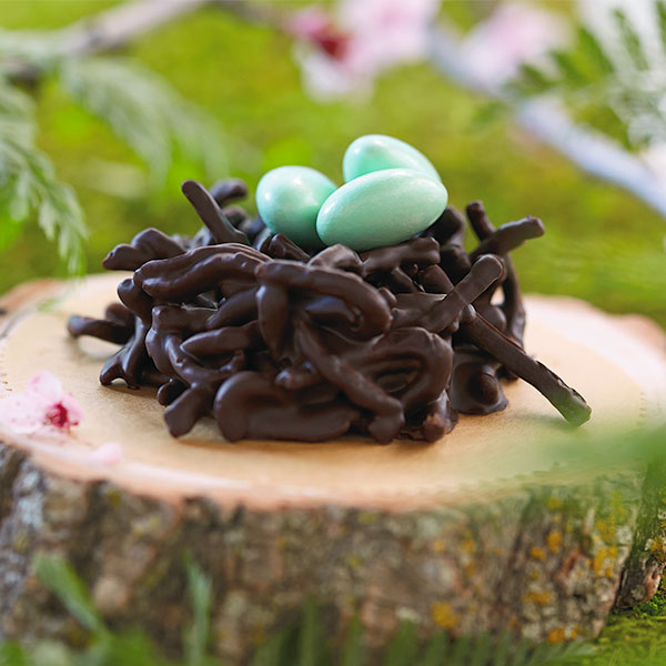 Chocolate Bird's Nests Recipe
