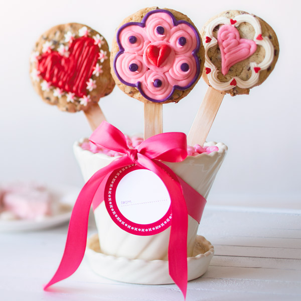 DIY cookie bouquet