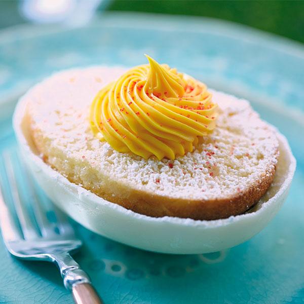Egg-Shaped Easter Cakes Recipe