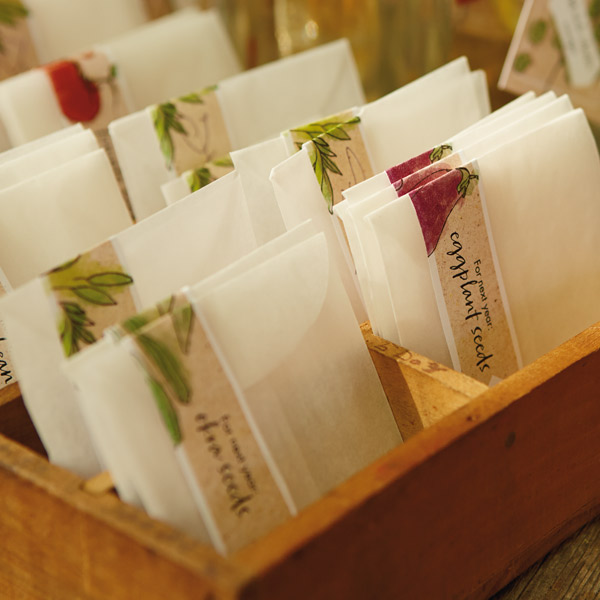 fall garden party seed packet favors printables. beautiful ideas. Home Design Ideas