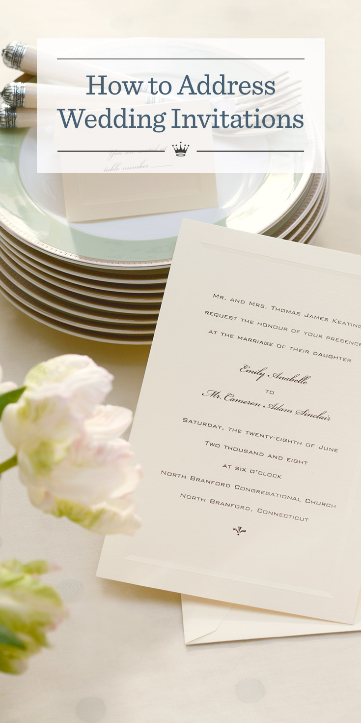 How to Address Wedding Invitations | Hallmark Ideas & Inspiration