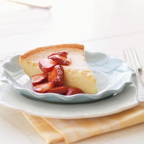 Vanilla Skillet Souffle Recipe