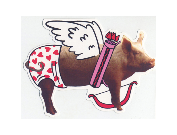 History of Valentines Day – Pig Valentine Cards