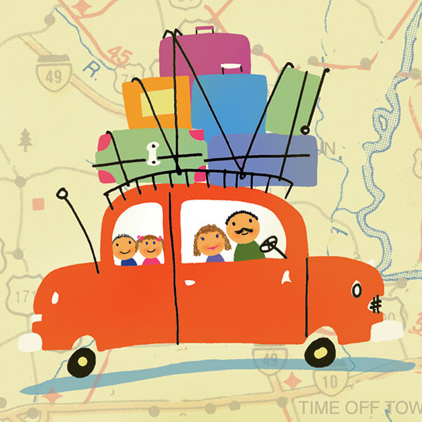 5 Dad-tested family road trip tips