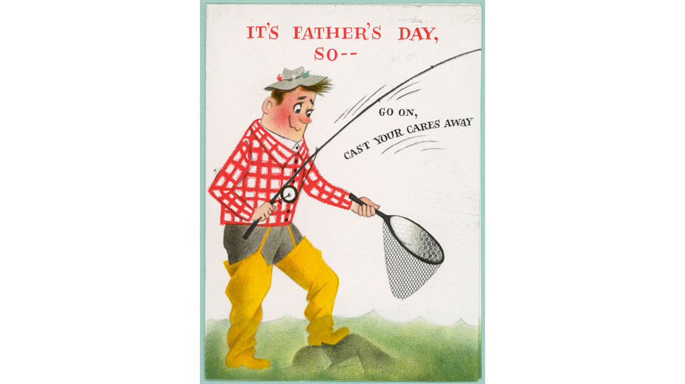 Father s day fishing card for Father s day fishing card