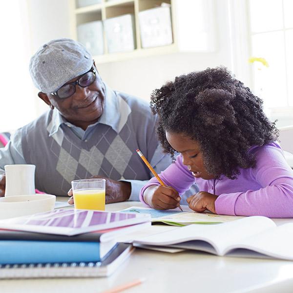 Simple ways to include children in caregiving